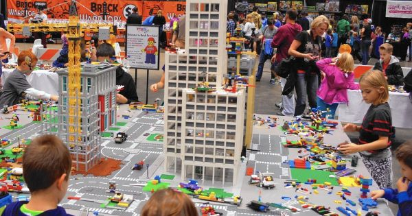 LEGO Fans: Win a Family Pack (up to 5) FREE tickets to Brick Fest Live in West…