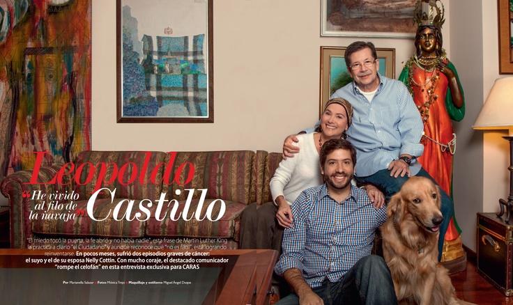 Leopoldo Castillo y su esposa Nelly Cottin nos cuentan cómo se enfrentan, con el apoyo de sus hijos, al cáncer.