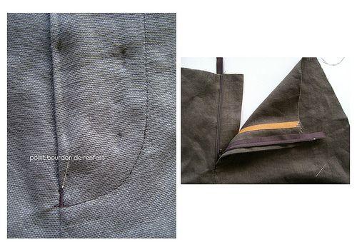 Tuto braguette pantalon - super tuto pour un résultat impeccable
