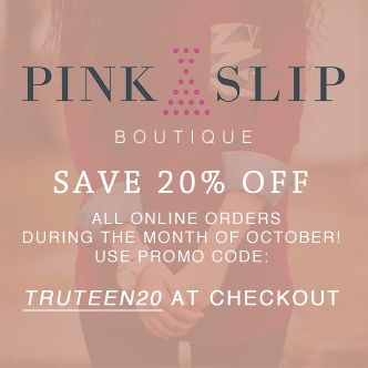 As featured in our fall issue: Enjoy 20% off the beautiful things at Pink Slip Boutique!