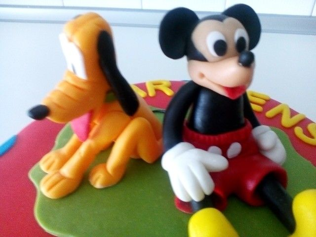 Pluto e Mickey