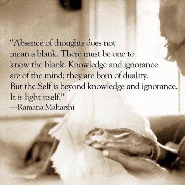 Advaita Vedanta. Ramana Maharshi.