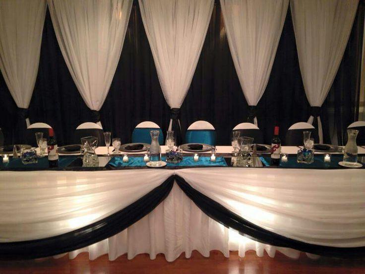 Wedding Head Table - Holiday Inn West Kelowna