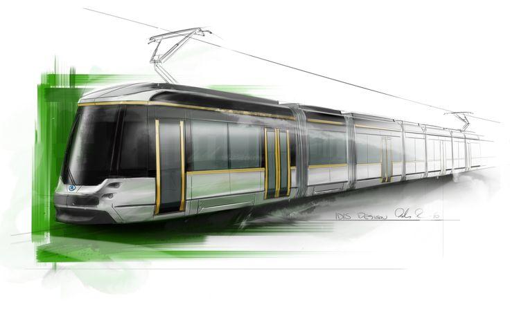 New design of trams Škoda/Transtech ForCity Smart Artic gor Helsinki