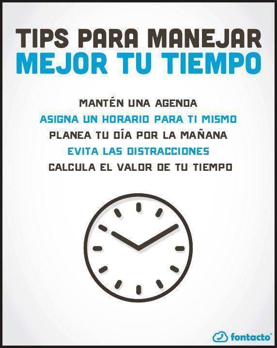 #Gestion del tiempo