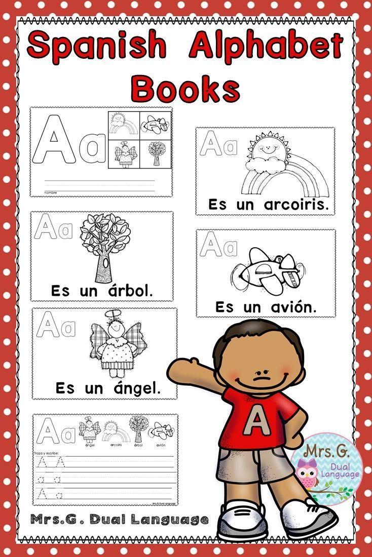El Alfabeto Spanish Alphabet And Beginning Sounds Books Spanish Alphabet Sound Book Alphabet Book [ 1100 x 734 Pixel ]