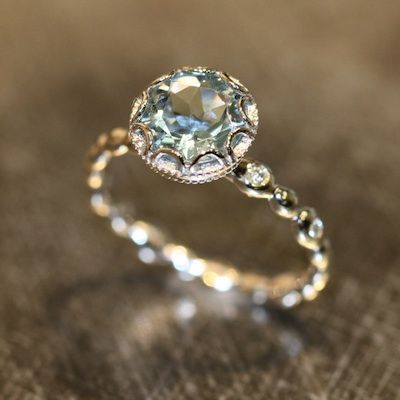 PHOTOS: Our 10 Favorite Non-Diamond Engagement Rings From Etsy - Philadelphia Wedding