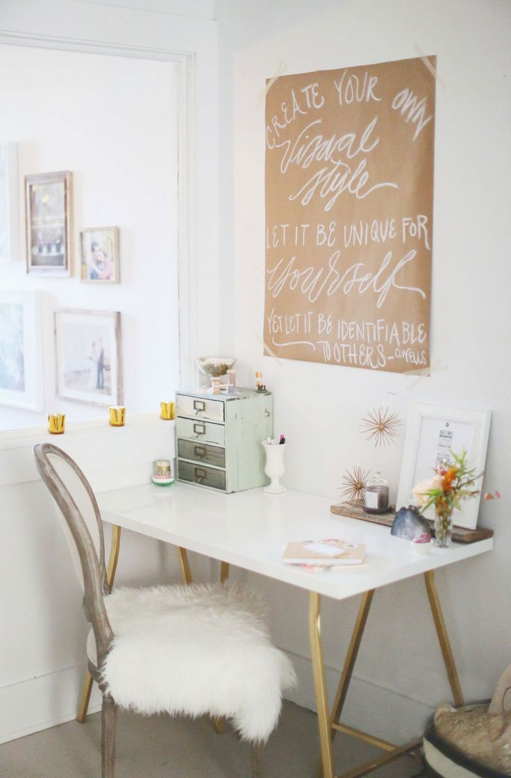 Photography: Hello Love Photography - hellolovephoto.com  Read More: http://www.stylemepretty.com/living/2014/01/03/a-creative-inspiring-studio-space/