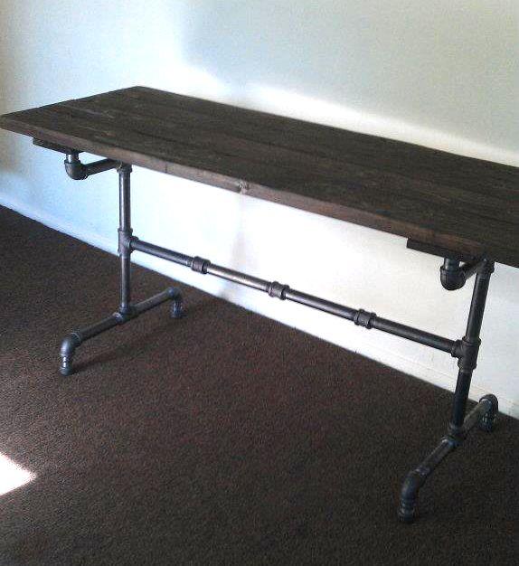Rustic Industrial Desk