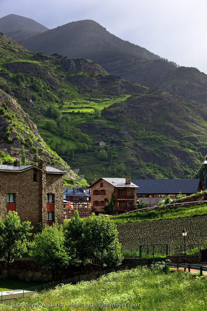 Pyrenees: Landscape of Canillo, Vall d'Orient, Andorra (AD), by Lutz Meyer