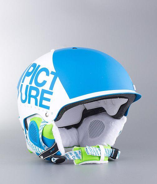 Picture - Hubber Snow Helmet Blue - Ridestore.com
