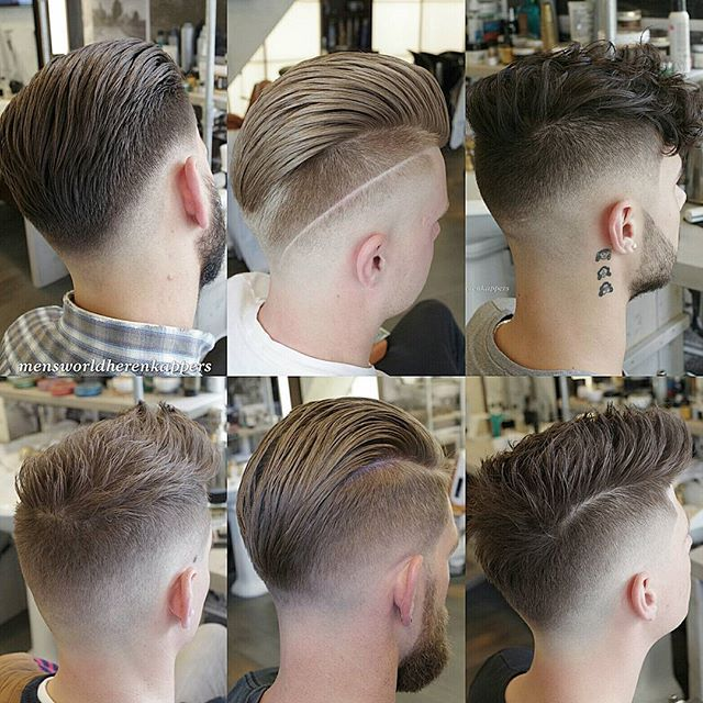A few different #Hairstyles and Fades from last month Styled with @hairbond