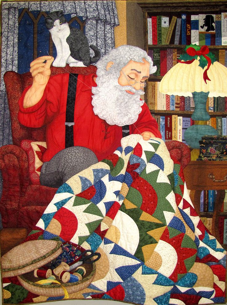 899 Best Images About Christmas Quilts On Pinterest