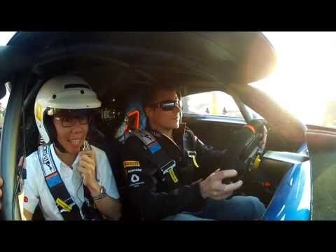 Kimi Raïkkonen testing the Renault Fluence and Alpine A110-50 in Shanghai  Kimi Raikkonen gave members of the Chinese media and Renault VIPs a spin in the Renault Fluence at a specially built track in Shanghai, China, over the weekend of the Chinese Grand Prix. Afterwards he gave a...