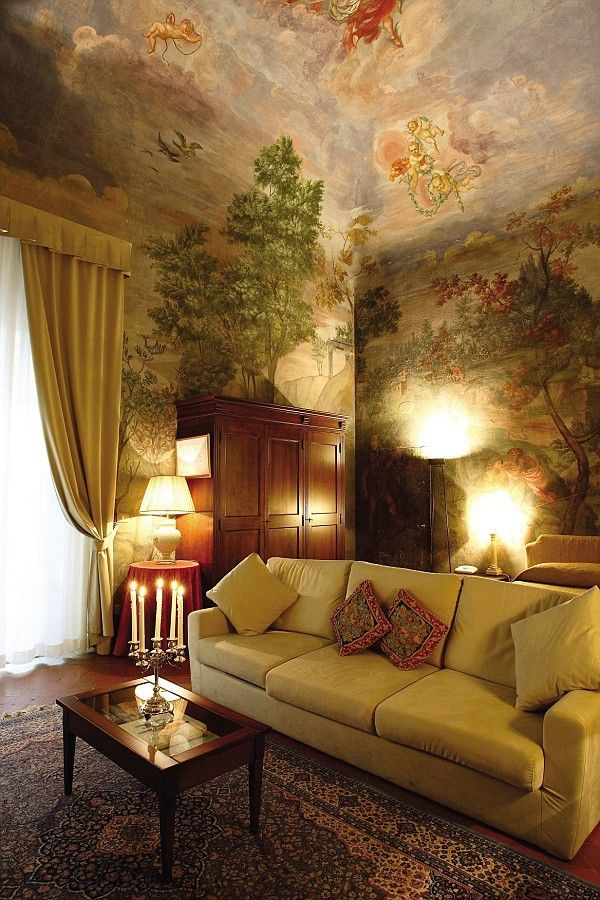 Hotel Room Wall: Palazzo-magnani-feroni---all-suites-Florence, Italy. Best
