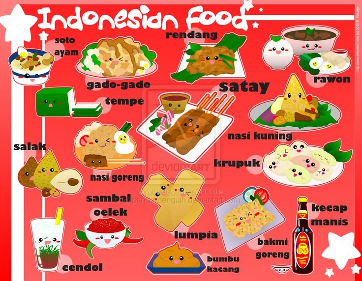 Foodies - Indonesia by ~panda-penguin on deviantART