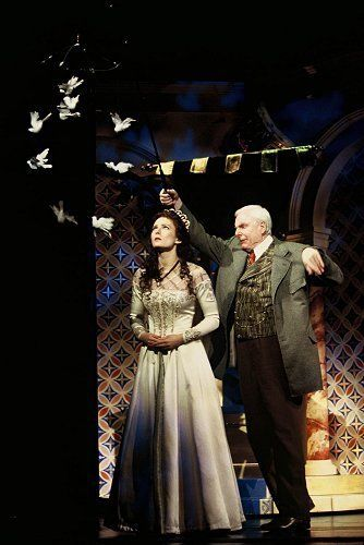 Photo of Cinderella talking to the birds... for fans of Into the Woods.