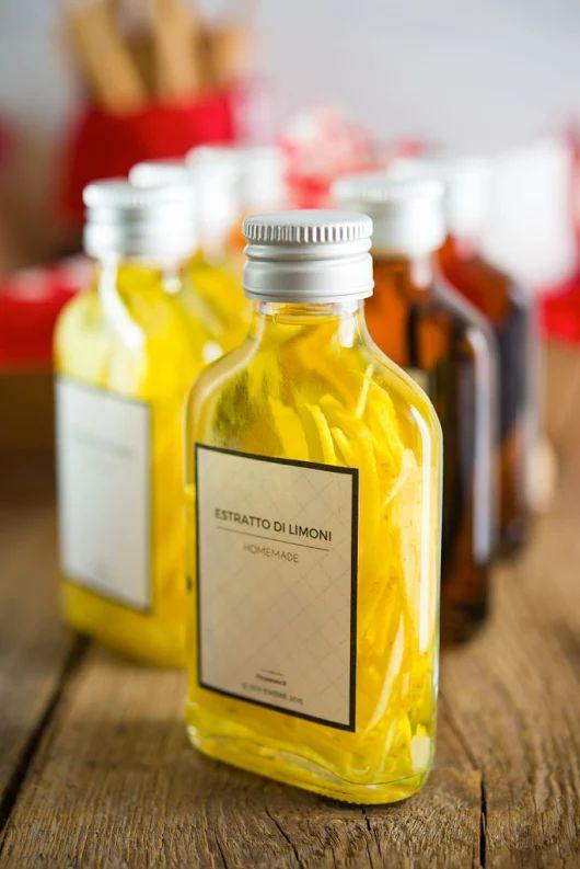 Regali golosi: estratto di vaniglia, di limone e di arancia - Vera in cucina