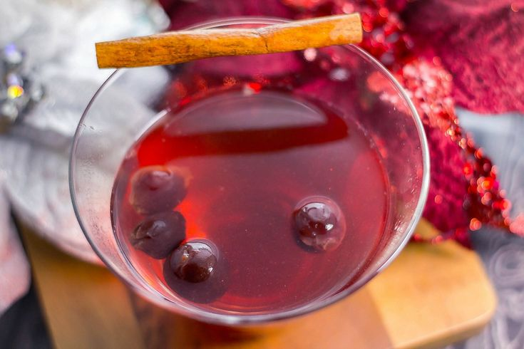 Dark Cherry Fireside Cider is an easy slow cooker holiday wine cocktail. Perfect to sip on a chilly winter evening. Inspiration Where do you find inspiration? Me, I find inspiration in everything around me. I may see a wine bottle and think of a recipe I could use... #applecider #cherry #cocktails