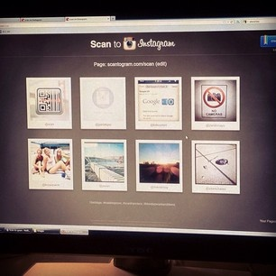 a new way to follow people on instagram :: Scan, Inc. on Instagram - Scan-to-gram