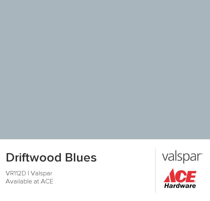 Driftwood Blues from Valspar