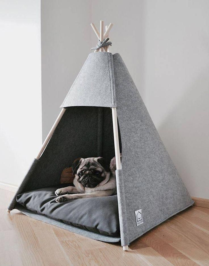 Teepee Felt Animalrescue Pet Teepee Dog Teepee Dog House