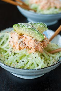 This Japanese-inspired salad is my absolute favorite sushi restaurant appetizer! Make your own at home with the recipe for this quick and easy recipe! #Salad #Cucumber #Crab #Avocado