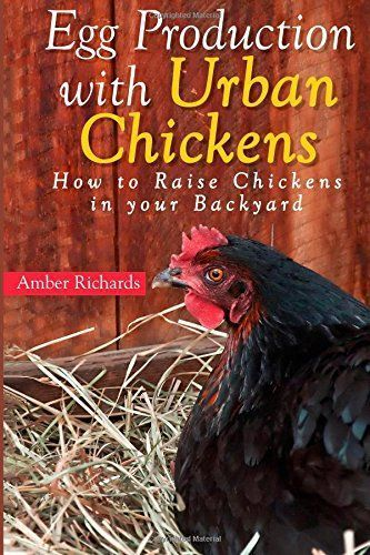 Great book for beginners, Egg Production with Urban Chickens: How to Raise Chickens in Your Backyard. Save pin to refer to later