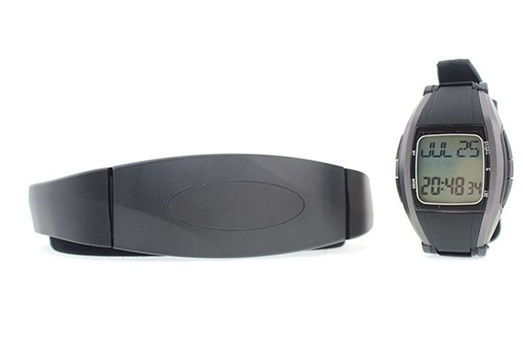 Next-shine Digital Health Heart Rate Monitor Watch Calorie Counter Smart Pulse Live Water Resistant Strapless Smart Watch,Black ** For more information, visit image link.