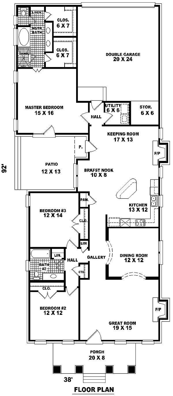 Best 25 bungalow house plans ideas on pinterest cottage house plans cottage floor plans and - Dream home floor plan model ...