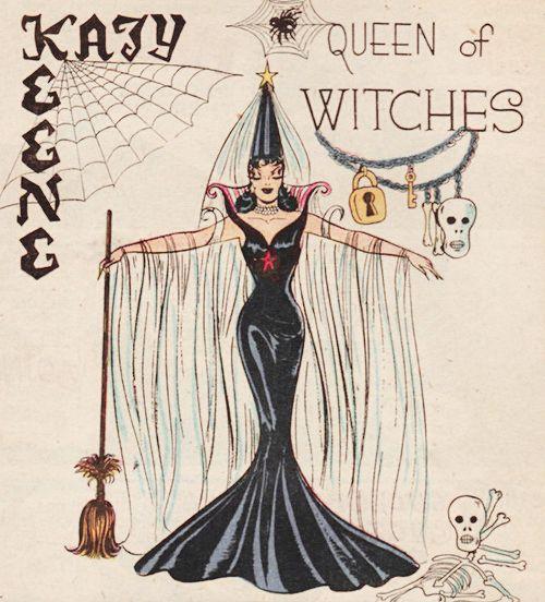 "gravesandghouls: "" Katy Keene #29 (1956) """