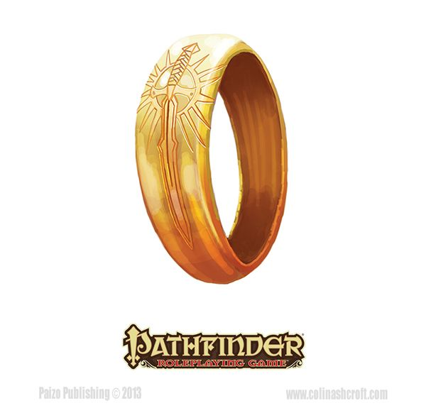 Pathfinder-Inner Sea Gods-Knight Inheritor's ring by Colin-Ashcroft on DeviantArt