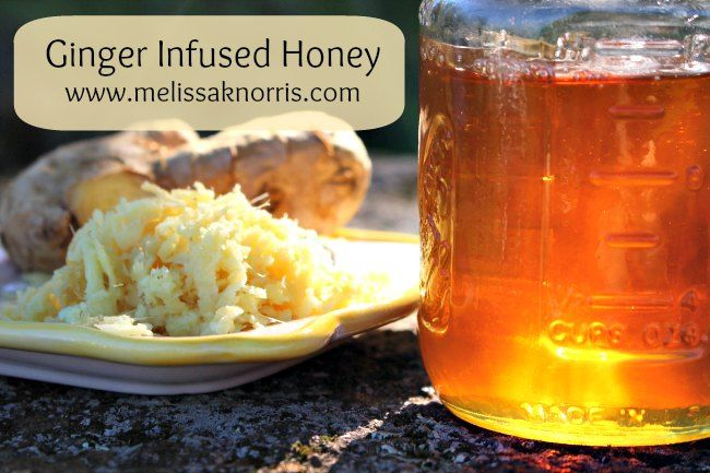 Benefits of ginger, plus how to make ginger infused honey for a powerful natural herbal remedy this cold season
