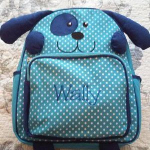 A Personal Creations Exclusive! An adorable pal and backpack in one—your little tike will want to keep their little critter close all day!
