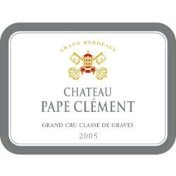 Chateau Pape Clement 2005 - Bordeaux Blends Red Wine