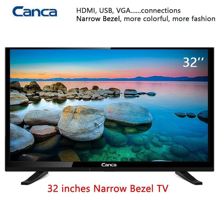 19/22/24/32inch Edge LED LCD Television 16:9 Progressive Scan 1366*768 Stereo Sound HDMI Home/Hotel TV //Price: $157.63//     #storecharger