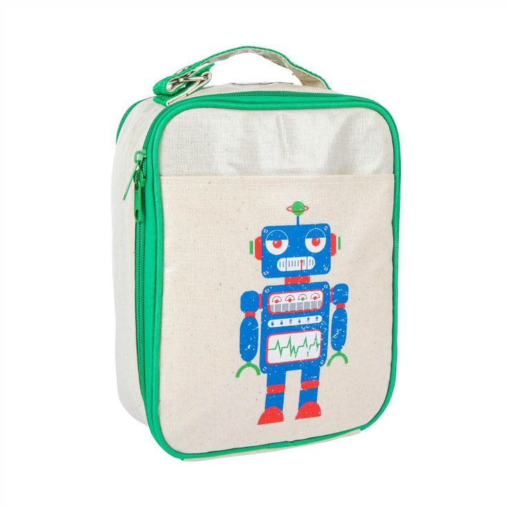 Impertex Fabric Lunch Kit with Robot Embroidery Printing