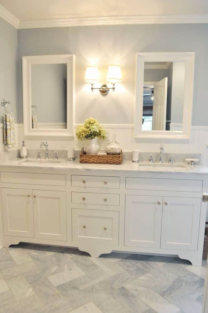 Bathroom Double Vanity Ideas Inspirational Best 25 Bathroom Double Vanity Ideas On Pinterest In 2020 Double Vanity Bathroom Farmhouse Bathroom Vanity Bathrooms Remodel