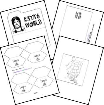 Free American Girl Lapbook Templates  Create your own American Girl lapbook with these  templates at Homeschool Share.  In addition to thelapbook templates, there are minibooks for the following American Girls: Addy Felicity Samantha Molly Kit Kaya Kirsten Julie and Josefina