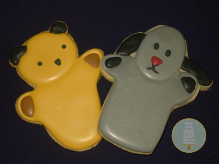 Sooty & Sweep Iced Cookies