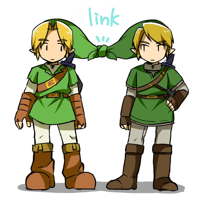 """link"" ♡ what a pun..."