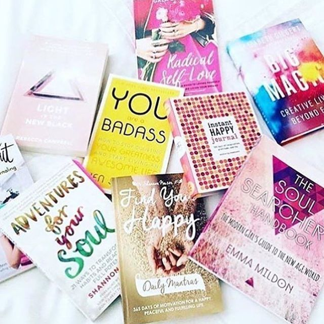emma.mildon: My soul is a big fan of all things #YearofYou list✨ the perfect books to fill your heart, lift your spirits, and kick you in the ass