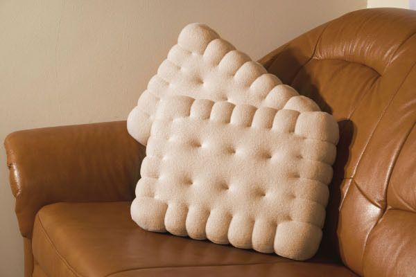 Biscuit pillow from Crafti by DaWanda.com