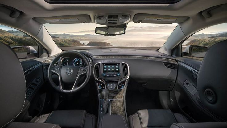 QuietTuning technology works to block and absorb outside noise and vibration in the 2016 Buick LaCrosse full-size sedan.