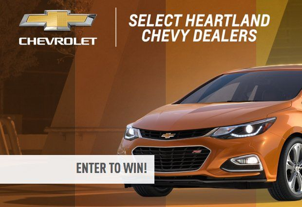 Win a 36 month lease on one 2017 Chevrolet Cruze Hatchback and $1500 carrying cost. Add'l rules apply with regard to mileage, etc. $10,500.00 value! Enter it, but limited states.