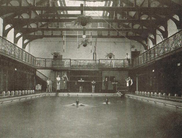 St George's Public Baths in Stepney East London