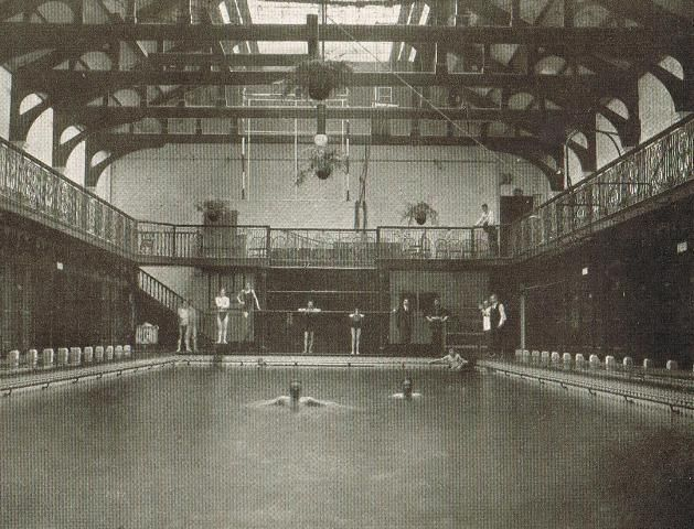 St George's Public Baths in Wapping East London #East_End #London #Places