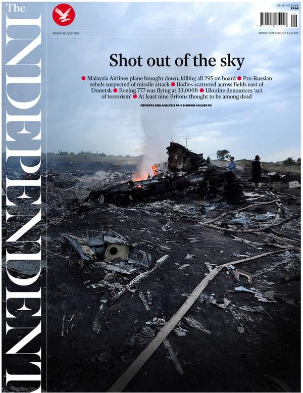 MH17 The Independent | Shout out of the sky