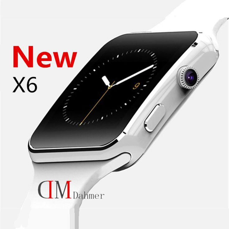 2016 neue Bluetooth Smart Uhr X6 Smartwatch Sport Uhr für Apple iPhone Android-Handy mit Kamera FM Unterstützung SIM-Karte P130 //Price: $US $33.31 & FREE Shipping //     #smartwatches