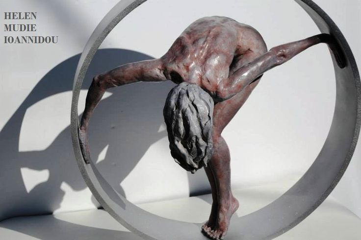 Helen Mudie Ioannidou is a figurative sculptor based out of Greece. Working mostly with clay, expresses herself through the forms. See more of her work at: www.helenmi.gr
